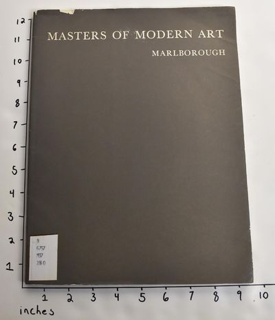 London: Marlborough Fine Art Limited, 1960. Softcover. G-. Former library book with usual markings. ...