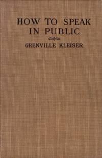 How To Speak in Public