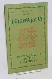 Beta theta pi, official organ of the fraternity vol. xxiii, November 1895, no. 2 [cover titling] The beta theta pi with which has been united The mystic messenger [title page]