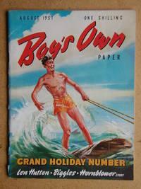Boy's Own Paper. August 1951.