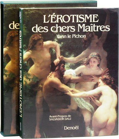 Paris: Denoël, 1986. First Edition. Large quarto. Green cloth boards; dustjacket; 190pp; illus. Tig...