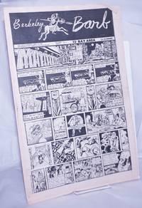 image of Berkeley Barb: vol. 8, #24 (#200) June 13-19, 1969: Spain Rodriguez Manning Comic Cover