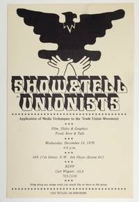 image of Show_Tell for Trade Unionists. Application of media techniques to the Trade Union Movement [announcement card]