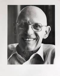 Portrait photographique de Michel Foucault par Bruno de Monès (tirage vintage signé)