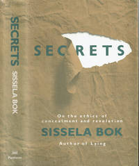 image of SECRETS: On the Ethics of Concealment and Revelation.