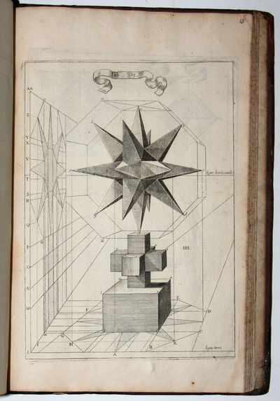 Paris: Jean du Puis/Widow of Langlois, 1663. Scarce edition of this important treatise on perspectiv...