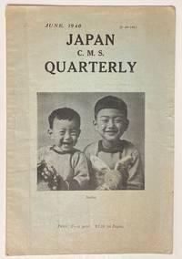 image of Japan C.M.S. Quarterly. June, 1940