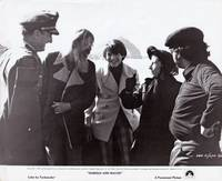 image of Harold and Maude (Original photograph of Charles Tyner, Hal Ashby, Ruth Gordon, and Bud Cort on the set of the 1971 film)