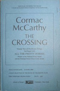 The Crossing (Uncorrected Proof)