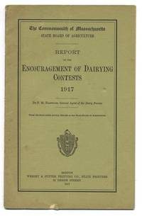 Report on the Encouragement of Dairying Contests