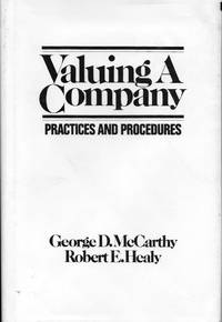 image of Valuing a Company: Practices and Procedures