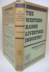 image of THE WESTERN RANGE LIVESTOCK INDUSTRY