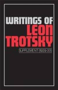 image of Writings of Leon Trotsky (Supplement I 1929-33)