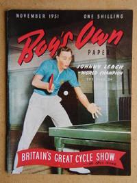 Boy's Own Paper. November 1951.