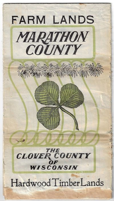 Wausau, WI: G.D. Jones Land Co, 1914. Large folding brochure printed in black and green, with plat m...