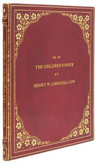 Autograph Manuscript, fair copy, of The Children's Hour, Signed (Henry W. Longfellow)