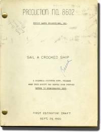 Sail a Crooked Ship (Original screenplay for the 1961 film)