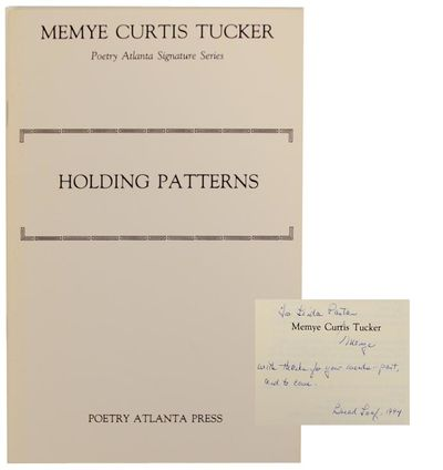 Atlanta, GA: Poetry Atlanta Press, 1988. Second printing. Softcover. 20 pages. A collection of 16 po...