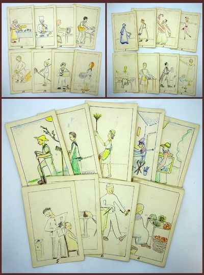 Hand Made Game of Old Maid - Gender...