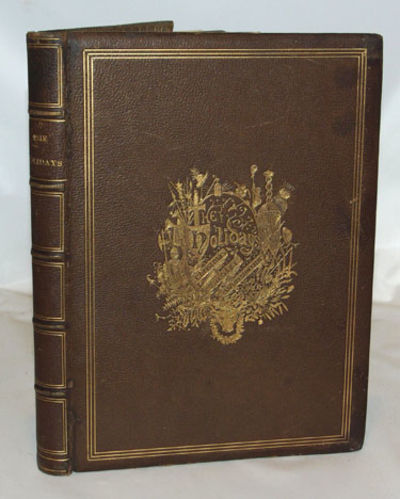 New York: Hurd and Houghton, (1868). First Edition. Near fine in full dark brown morocco with five r...