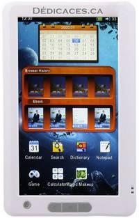 Liseuse numérique Dédicaces multimédia à écran tactile 7 pouces by Editions Dédicaces - from Editions Dedicaces and Biblio.co.uk