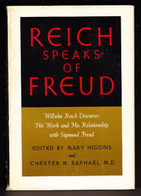 image of Reich on Freud:  Wilhelm Reich Discusses His Work and His Relationship with Sigmund Freud