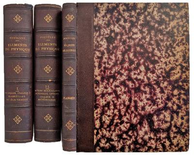 Paris:: Hachette, 1856., 1856. 2 volumes plus Atlas. 8vo. , vi, 852; , 848 pp. Numerous tables (3 fo...