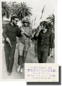 Louis Malle, Monica Vitti, and Roman Polanski at the 1968 Cannes Film Festival (Original Photograph)