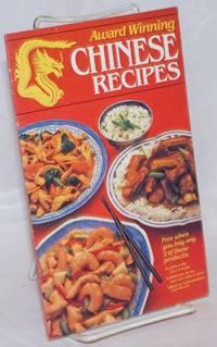 Award winning Chinese recipes