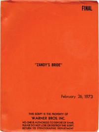 Zandy's Bride (Original screenplay for the 1974 film)