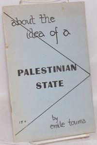 About the idea of a Palestinian state