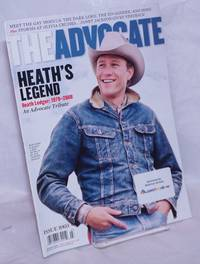 image of The Advocate: #1003, March 11, 2008: Heath's Legend; an Advocate tribute