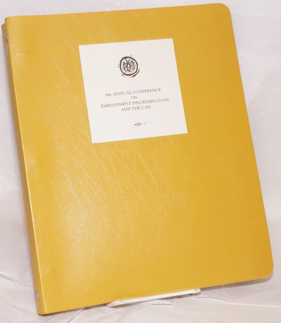 Los Angeles: the presenting organizations, 1979. 223 sheets, printed recto only, 8.5x11 inches, hole...