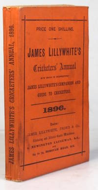 """James Lillywhite's Cricketers' Annual for 1896. With which is incorporated """"James..."""