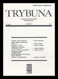Trybuna : kwartalnik polityczny: Nr. 55/111 [Language: Polish]