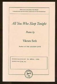 New York: Alfred A. Knopf, 1990. Softcover. Fine. First edition. Uncorrected Proof. Slightly faded, ...