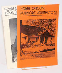 North Carolina Folklore Journal; vol. 28, numbers 1 and 2, May and November 1980