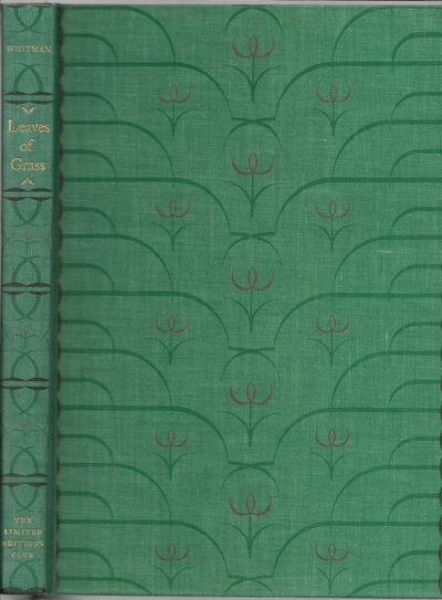 New York: Limited Editions Club, 1929. Hardcover. Fine in a Very Good to Near Fine slipcase with a s...