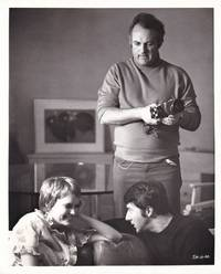 image of John and Mary (Original photograph of Mia Farrow, Dustin Hoffman, and Peter Yates on the set of the 1969 film)