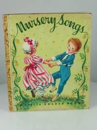 "image of Nursery Songs (Little Golden Book #7; ""P"" 1950 Printing)"