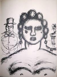 Le Clown égaré. Préface d'André Salmon. Lithographies originales par Armand Nakache