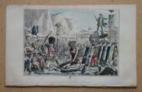 Landing of Julius Caesar. by Engraving. John Leech - 1847 - from N. G. Lawrie Books. (SKU: 47306)