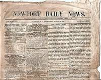 """NEWPORT DAILY NEWS"":; Our Country and Its Free Institutions Forever, Vol. II, No. 102, March 3, 1847"