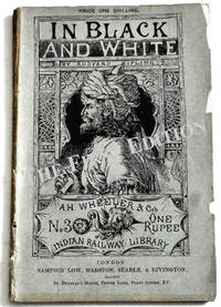 In Black and White Rare Rudyard Kipling Book 1888