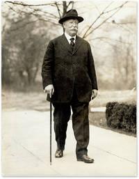 6-1/2 x 8-1/2 Black-and-White Press Portrait Photograph of Taft