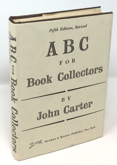 Hardcover with dust jacket, brown cloth with gilt spine titles, 14 by 20 cm, 211 pp. Very good with ...