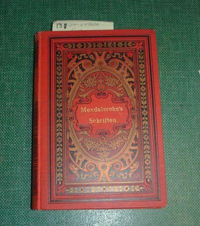 Breslau: Wilh. Jacobsohn & Co, 1892. Neue Titelauflage. VG+/no DJ Octavo in red cloth over boards wi...