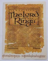 Fantasy Films Presents J. R. R. Tolkien's The Lord of the Rings: Promotional Gatefold