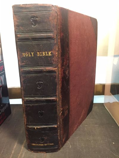 London: Deputies of Christopher Barker , 1599 . Hardcover. Thick Octavo; G; bound in 3/4 black leath...