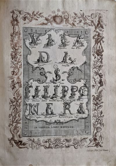 Venezia, 1757. Folio. 375 x 260 mm., . Engraved portrait and title-page and 38 full page plates,...